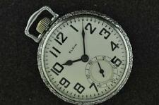 Vintage 16S Elgin B.W Raymond 21J Pocket Watch From 1925 Running