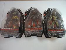 NECA Series 2 Tracker, Unmasked Berserker And Classic Predator Collection