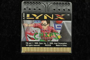 Chip's Challenge Atari Lynx
