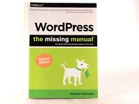 Very Good! WordPress - The Missing Manual: by Matthew MacDonald (1st Edition PB)