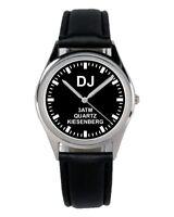 DJ Disk Jockey Beruf Geschenk Fan Artikel Zubehör Fanartikel Uhr B-2446