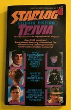 Vintage 1986 Starlog Science Fiction Trivia Book 1st Print Star Wars Paperback