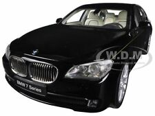 BMW 760Li (F02) 7 SERIES BLACK 1/18 DIECAST CAR MODEL BY KYOSHO 08783