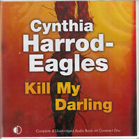 Cynthia Harrod Eagles Kill My Darling 9CD Audio Book Unabridged Bill Slider