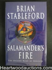 Salamander's Fire by Brian Stableford (Signed)