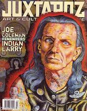 Juxtapoz #61 Joe Coleman Indian Larry KAWS vs Pushead Art Basel Miami Piccinini