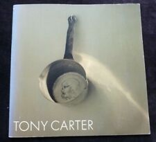 Tony Carter - Images of subject /object durability 1983 ART EXHIBITION CATALOGUE