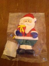 A.C AC Moore brand Santa Claus Christmas ornament new in package Limited Edition