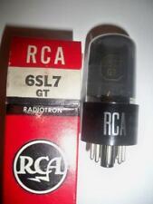 Vintage Rca 6Sl7Gt Nos/Nib Tubes