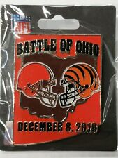 2019 Cincinnati Bengals VS Cleveland Browns 12/8/19 GAME DAY PIN BRAND NEW PIN