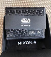 Star Wars Nixon Arc Bi Fold Wallet Black Kylo SW Collectors Edition Brand New