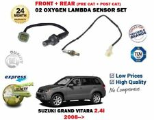 FOR SUZUKI GRAND VITARA 2.4 2008 > FRONT + REAR 2X 02 OXYGEN LAMBDA SENSOR SET