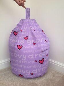Bean bag Childrens Character Groovy Chick Filled Kid Bean Bag Beenie Bedroom