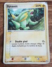 Carte Pokémon DYNAVOLT 50 PV 47/106 EX Emeraude VF