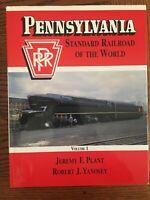 PENNSYLVANIA STANDARD RAILROAD OF THE WORLD VOLUME I BY PLANT & YANOSEY