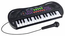 Kinder Keyboard 32 Tasten Spielzeugkeyboard mit Mikrofon 8 Rhythmen 8 Sounds