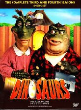 DINOSAURS COMPLETE SEASON 3 & 4 -DVD R1 4 DISC SET
