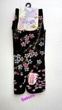 Nagomi SAKURA Cherry Blossoms Flower Japanese Split Toe Tabi Socks Womens Sz 6-8