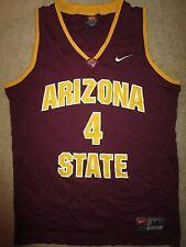Arizona State Sun Devils #4 Basketball Nike Asu Jersey Medium M