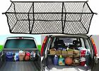 Highland (9501300) Black Three-Pocket Storage Net Cargo Trunk New Free Shipping