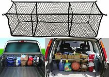 Highland (9501300) Black Three-Pocket Storage Net Cargo Trunk New Free Shipping