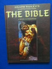 SIMON BISLEY'S ILLUSTRATIONS FROM THE BIBLE ~ A WORK IN PROGRESS HARDCOVER 2004