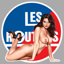 LES ROUTIERS PINUP SEXY CAMION TRUCK 9cm AUTOCOLLANT STICKER RA155