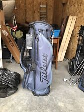 New listing Titleist Players 4 Plus Stand Bag - Charcoal/Black/Blue