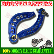 EMUSA Honda Civic Rear Upper Camber Arms KitS 2006 2007 2008 2009 2010 BLUE
