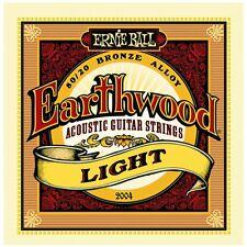Ernie Ball Earthwood 2004 80/20 Light Acoustic Guitar Strings Low shipping