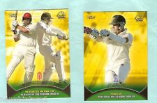 TOPPS 2002  ACB GOLD CRICKET CARDS - SEASON LEADERS