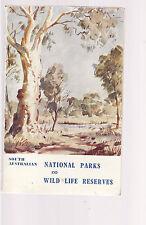 SOUTH AUSTRALIA (N) NATIONAL PARKS & WILD LIFE RESERVES - BERNARD COTTON  ek