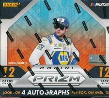 HAILIE DEEGAN 2019 PANINI PRIZM NASCAR RACING 6 BOX 1/2 CASE BREAK