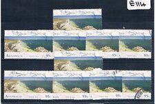1993 Shark Bay 1 Value X 10 Each             E114