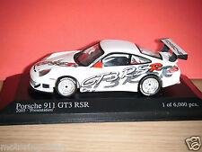 PORSCHE 911 GT3 RSR MINICHAMPS 1:43 MODEL LIMITED EDITION 2003 911 GT3 RSR MODEL