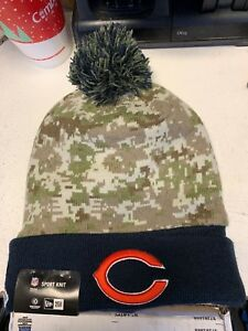 Chicago Bears 2015 Salute to Service Knit Pom Hat