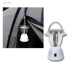 LED Lampe de camping solaire 12 LEDs 2 Fonctions 15/50lm Lanterne