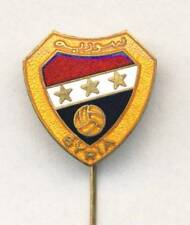 old SYRIA Football Association PIN BADGE Syrian Soccer FA