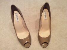 L K Bennett Scruple Taupe Peep toe heels Size 41 uk 8