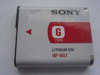 Batterie D'ORIGINE SONY NP-BG1 NP-FG1 3.6V 960mAh 3.4Wh GENUINE NEW ACCU
