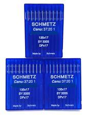 30 SCHMETZ 135X17 #18 SEWING MACHINE NEEDLES fits SAILRITE BIG-N-TALL