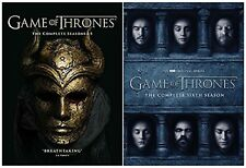GAME OF THRONES COMPLETE COLLECTION SEASONS 1-6 DVD UK Release NEW Sealed R2