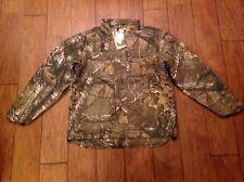 Carhartt Quick Duck Camo Jacket Coat Rain Defender Size Large 101444 F3c