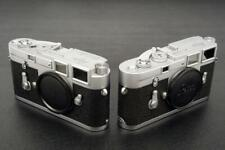 Leica M3 Chrome Bodies Single Strokes (2) Consecutive Serial Numbers