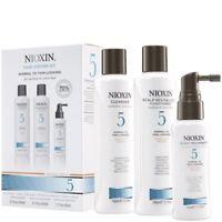 Nioxin Hair System 5 Trial kit Cleanser & Revitaliser 100ml Treatment 50ml