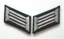 WW2 German Heer Pioneer  Officer Collar Tabs