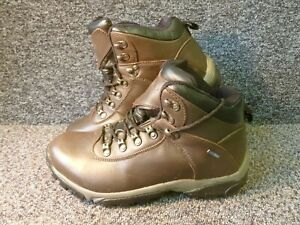 Pair Hawkshead Walking Boots Caddo Valley Bitter Chocolate Colour Size 8