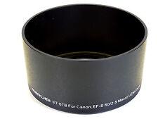 NUOVO MARUMI ew-67b CAPPUCCIO obiettivo-per Canon EF-S 60mm f2.8 Macro USM
