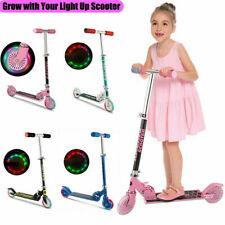 Kids Scooter Deluxe for Age 3-8 Adjustable Kick Scooters Girls Boys 2  B 02 m 34