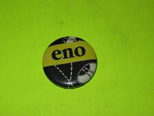 "Vintage 80'S Eno 1 1/4"" Badge Button Pinback New Wave Rock"